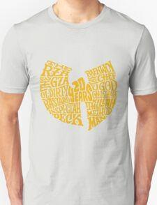 Text Music Anniversary Unisex T-Shirt