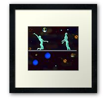 The Fate Of Earth Framed Print