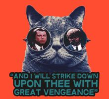 Galaxy cat glasses - pulp fiction quote jules by datthomas