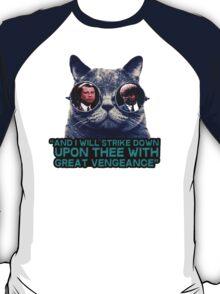 Galaxy cat glasses - pulp fiction quote jules T-Shirt
