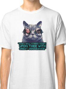 Galaxy cat glasses - pulp fiction quote jules Classic T-Shirt
