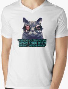 Galaxy cat glasses - pulp fiction quote jules Mens V-Neck T-Shirt