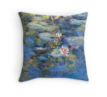 Monet's Pond, Giverny Throw Pillow