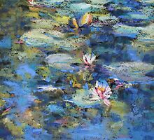 Monet's Pond, Giverny by Terri Maddock