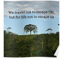 Costa Rica Landscape Motivation Poster