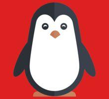 Cute Penguin // Cute Aquatic Animal / Cute Animals Stickers Series /  One Piece - Short Sleeve