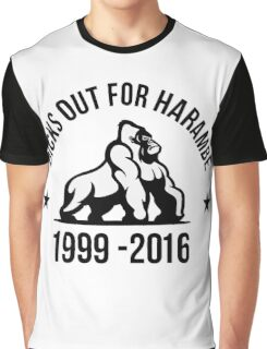 Dick Out For Harambe 1999 - 2016 Graphic T-Shirt