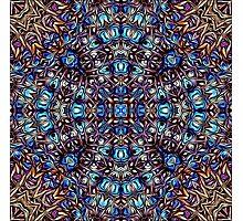 Pacific Northwest Art Inspired Kaleidoscopic Image Photographic Print