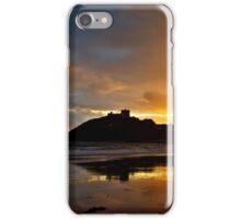 Criccieth Castle Sunset iPhone Case/Skin