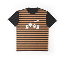 Ghost Stripes Graphic T-Shirt