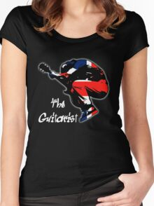 The Guitarist Women's Fitted Scoop T-Shirt