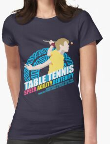 Speed,Agility,Dexterity - Table Tennis Womens Fitted T-Shirt