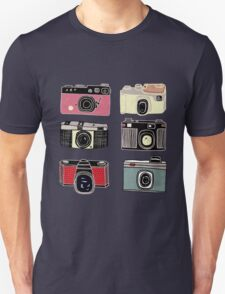 Stack of Cameras Unisex T-Shirt