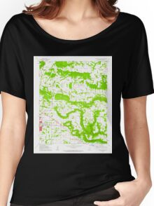 USGS TOPO Map Arkansas AR Russellville East 259543 1962 24000 Women's Relaxed Fit T-Shirt