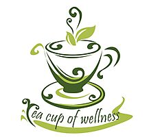 Tea Cup Of Wellness Photographic Print