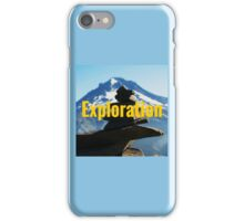 Mt Hood Hiking Motivation iPhone Case/Skin
