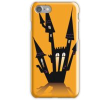 Vector - Halloween haunted house. Haunted house silhouette. Vector icon. iPhone Case/Skin