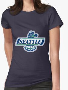 Seattle Seahawks Womens Fitted T-Shirt