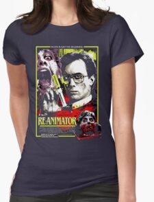 Re-Animator Poster Womens Fitted T-Shirt