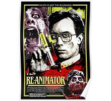 Re-Animator Poster Poster