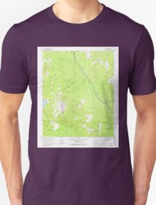 USGS TOPO Map Arkansas AR Leola 258915 1965 24000 Unisex T-Shirt