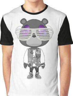 Kanye West Graduation bear Graphic T-Shirt