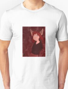 The Girl Who Howled Wolf Characters: Genevieve Unisex T-Shirt