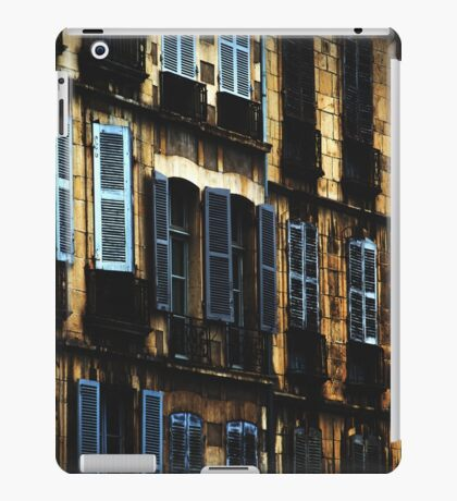 French architecture iPad Case/Skin