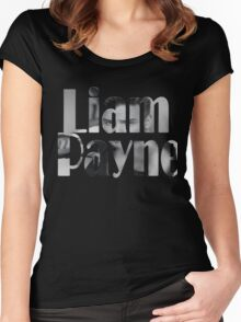 Liam Payne Shirt Women's Fitted Scoop T-Shirt