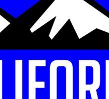 EXPLORE CALIFORNIA USA MOUNTAINS BIKING HIKING CAMPING CLIMBING TAHOE MAMMOTH Sticker