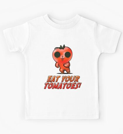 Eat Your Tomatoes Kids Tee
