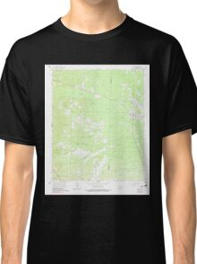 USGS TOPO Map Arkansas AR Poyen 259443 1964 24000 Classic T-Shirt
