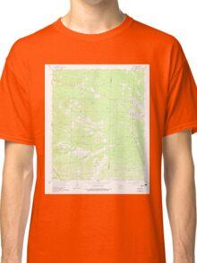 USGS TOPO Map Arkansas AR Poyen 259443 1964 24000 Classic T-Shirt