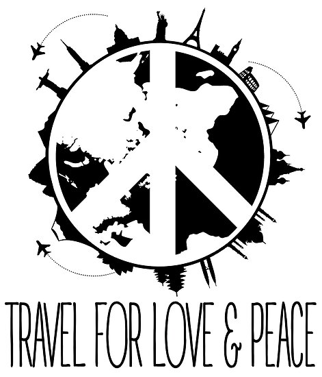 Travel For Love And Peace by papabuju