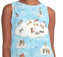 All Dogs Go To Heaven Contrast Tank