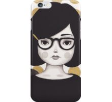 Kitty Girl IIII iPhone Case/Skin