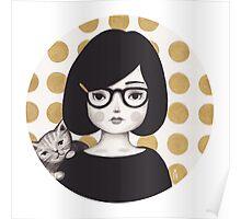 Kitty Girl IIII Poster