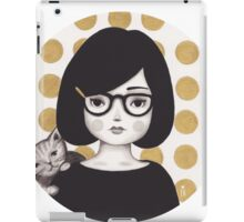 Kitty Girl IIII iPad Case/Skin
