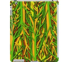 Upside-down forest  iPad Case/Skin