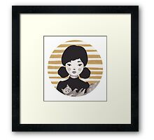 Kitty Girl II Framed Print