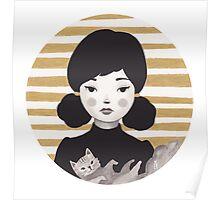 Kitty Girl II Poster