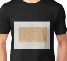 0050 Aethiopen Dynastie XXV 3 Barkal Jebel Barkal Grosser Felsentempel Westwand der Cella Unisex T-Shirt