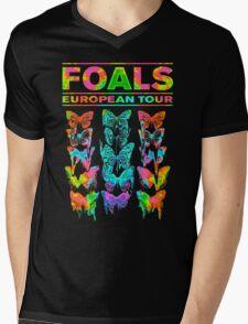 Foals European tour Mens V-Neck T-Shirt