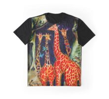 cave giraffes Graphic T-Shirt