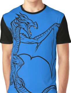Skyrim Dragon Graphic T-Shirt