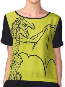 Skyrim Dragon Chiffon Top