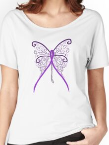 Chiari Butterfly Women's Relaxed Fit T-Shirt