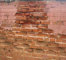 Worn Red Bricks by lezvee