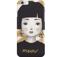 Kitty Girl I iPhone Case/Skin