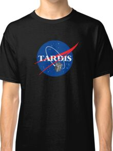 Tardis NASA, Parody Dr Dalek Who Doctor Space Time BBC Tenth Police Box Classic T-Shirt